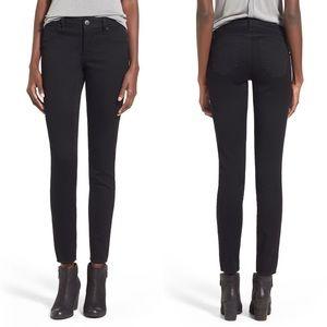 1822 Denim butter skinny jeans black stretch